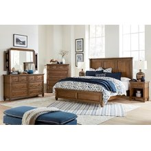 Queen Non-Storage Bed