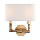 Wall Sconce - Aged Brass Product Image