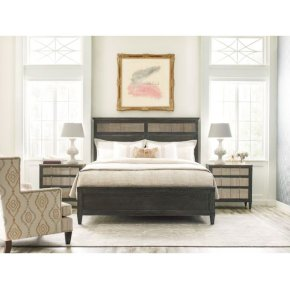 Sambre Panel Queen Bed Complete