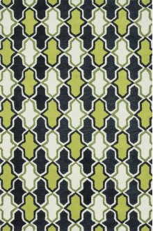 Lime / Charcoal Rug