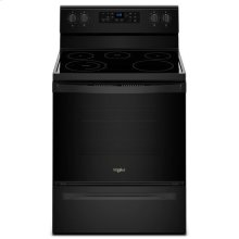 Whirlpool® 5.3 cu. ft. Freestanding Electric Range with 5 Elements - Black