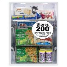 """24"""" Outdoor Freezer  Marvel Premium Refrigeration - 24"""" Outdoor All Freezer - Solid Stainless Steel Door with Lock, Left Hinge"""