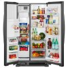 Whirlpool Whirlpool® 36-Inch Wide Side-By-Side Refrigerator - 24 Cu. Ft. - Black
