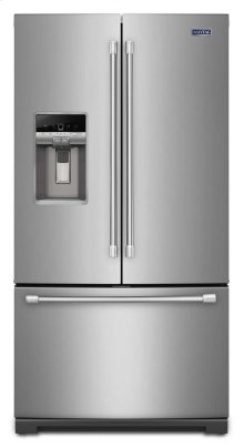 36-inch Wide French Door Refrigerator with PowerCold™ Feature - 27 cu. ft.-CLOSEOUT