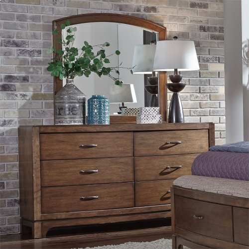 Queen Storage Bed, Dresser & Mirror, Chest, NS
