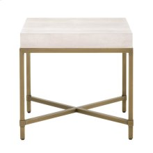Strand Shagreen End Table