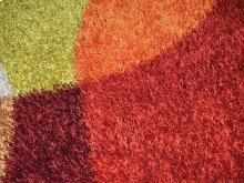 Shaggy rug, Multicolor color