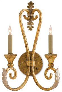 Orleans Wall Sconce - 20h x 12.5w x 7d