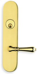 Exterior Traditional Deadbolt Entrance Lever Lockset in (Exterior Traditional Deadbolt Entrance Lever Lockset - Solid Brass ) Product Image