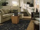 Midnight Laurel Rectangle Rug (8' X 11') Product Image