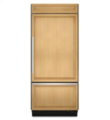 20.8 Cu. Ft. 36-Inch Width Built-In Bottom-Freezer Refrigerator, Overlay Panel-Ready - Panel Ready