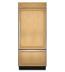 20.8 Cu. Ft. 36-Inch Width Built-In Bottom-Freezer Refrigerator, Overlay Panel-Ready - Panel Ready