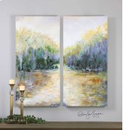 Summer View Hand Painted Canvases, S
