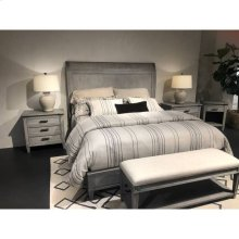 Willow Panel Bed - Pewter / Queen