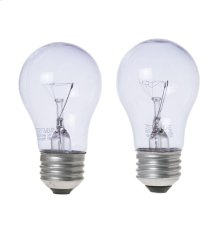 40-watt Reveal Appliance Light Bulb 2 Pack