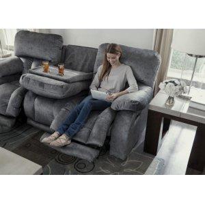 Power Headrest w/Lumbar Power Lay Flat Recl w/Ext Ottoman