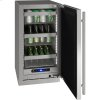 """U-Line 5 Class 18"""" Refrigerator With Stainless Frame Finish And Field Reversible Door Swing (115 Volts / 60 Hz)"""