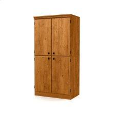 4-Door Storage Cabinet - Country Pine