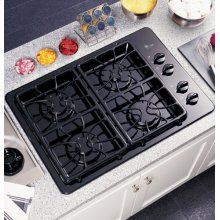 "GE Profile 30"" Built-In Gas Cooktop"