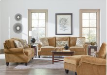 Sofa, W/3 Toss Pillows