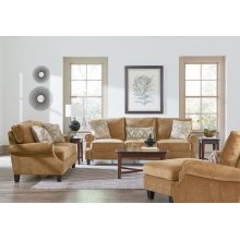 Loveseat, W/2 Tosspillows