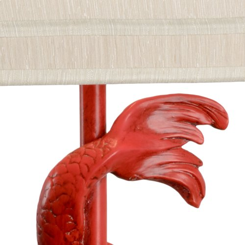 Imperial Dragon Lamp - Red