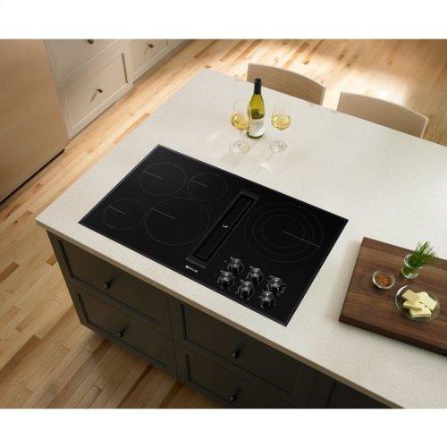 "JennAir® Euro-Style 36"" JX3 Electric Downdraft Cooktop - Black"