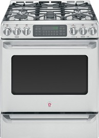 """30"""" Slide-In Gas Convection Self-Cleaning Range with Baking Drawer"""
