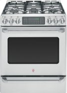 """30"""" Slide-In Gas Convection Self-Cleaning Range with Baking Drawer Product Image"""