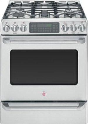 "30"" Slide-In Gas Convection Self-Cleaning Range with Baking Drawer"