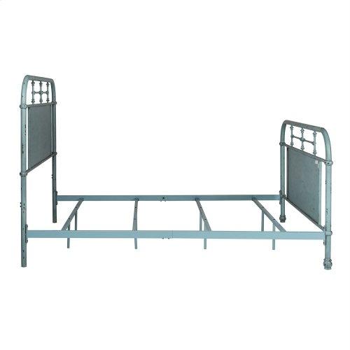 Full Metal Bed - Blue