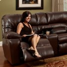 Reclining Sofa W/Table & Drawer Storage Product Image
