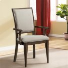 Joelle - Upholstered Arm Chair - Carbon Gray Finish Product Image