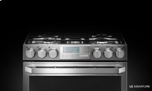 LG SIGNATURE 6.9 cu.ft. - Gas Double Oven Slide-In Range with ProBake Convection®