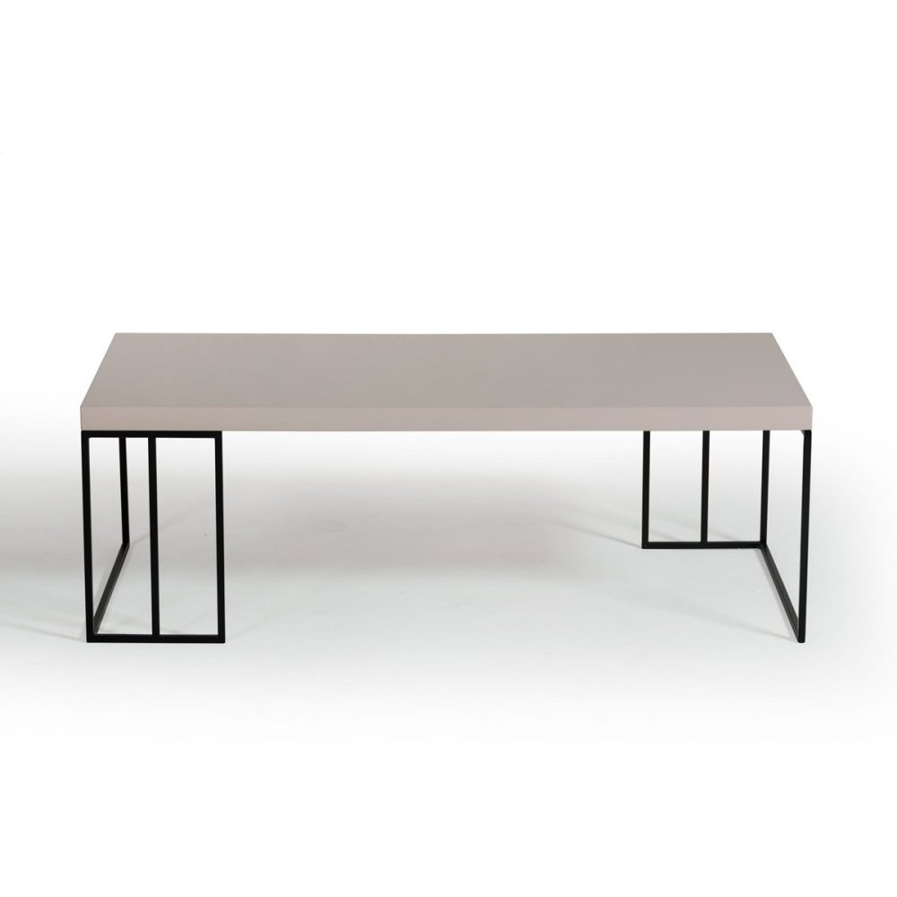 Modrest Hope Modern Grey Gloss Coffee Table