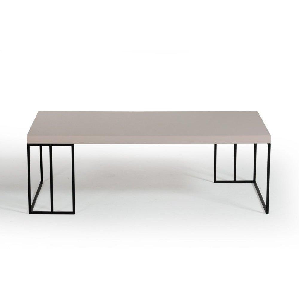 Modrest Hope Modern Grey Gloss Coffee Table