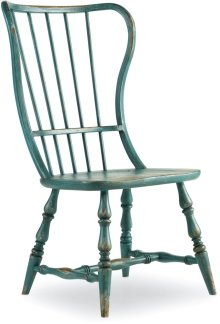 Sanctuary Spindle Side Chair