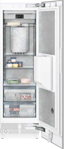 "400 Series Freezer Column With Ice and Water Dispenser Fully Integrated Niche Width 24"" (61 Cm)"