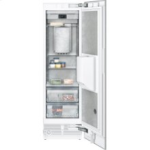 """400 series 400 series freezer column with ice and water dispenser Fully integrated Niche width 24"""" (61 cm)"""