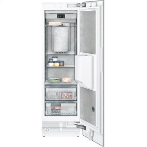 "Gaggenau400 series Vario freezer 400 series Niche width 24"" (61 cm) Fully integrated, panel ready, with ice and water dispenser"