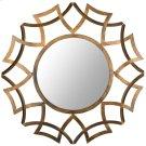 Inca Sunburst Mirror - Antique Gold Product Image