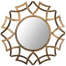 Inca Sunburst Mirror - Antique Gold