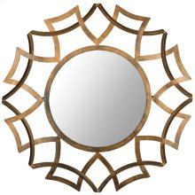 Inca Sunburst Mirror - Antique Gold