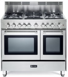 "Stainless Steel 36"" Gas Double Oven Range - 'N' Series"