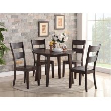 3 Piece Dining - Drop Leaf Table and Two Side Chairs
