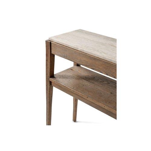 Tay Console Table, Echo Oak