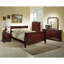 6-Piece Bedroom - 3 PC Bed, Dresser, Mirror, Chest