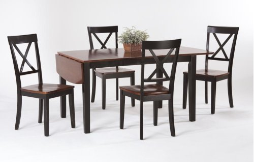 Solid Hardwood Top Extension Table