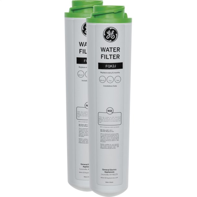 GE Replacement Water Filter - Dual Flow Under sink System