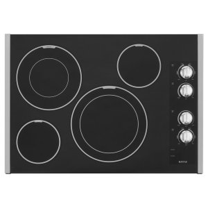 Maytag30-Inch Wide Electric Cooktop With Two Dual-Choice Elements